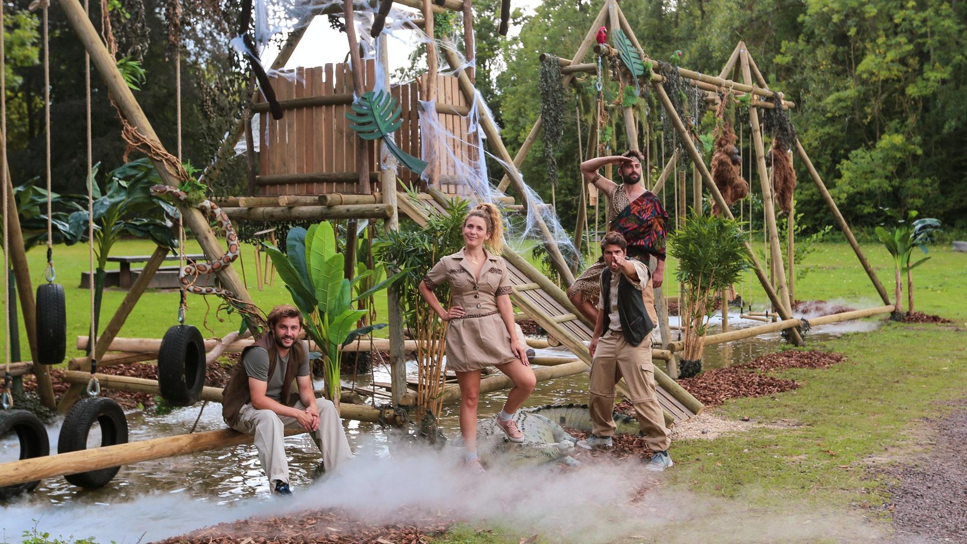 Heldentoeren: Bezoek het jungleparcours uit Heldentoeren!