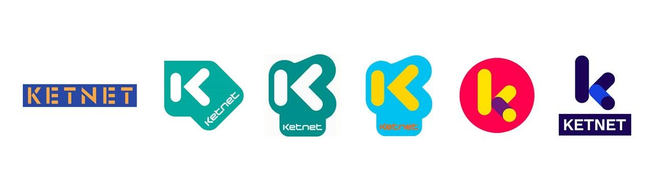 Logo's Ketnet door de jaren heen