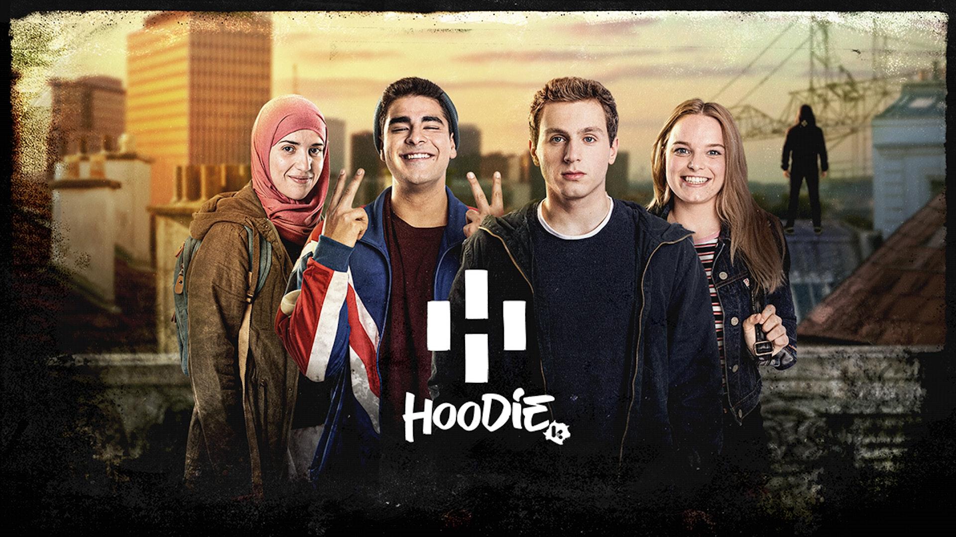 Hoodie-tocht door Brussel