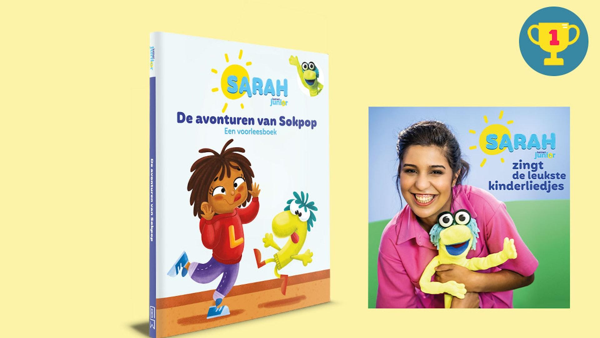 Win het voorleesboek en de CD van Sarah